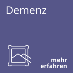 Demenz Icon blau
