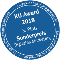 KU Award 2018 - 3. Platz Sonderpreis Digitales Marketing
